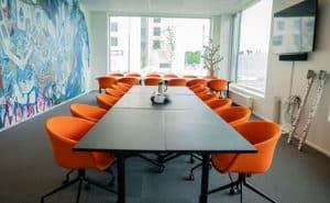 Orange Meeting Room