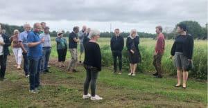 Indvielse af ny walk and talk rute i Forskerparken