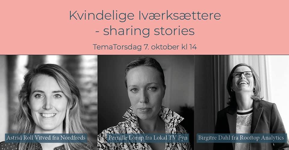 Kvindelige iværksættere – sharing stories
